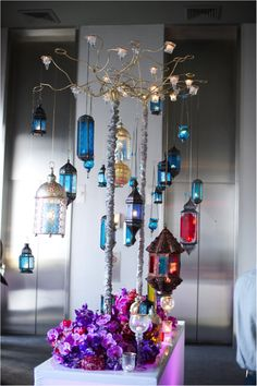 3 mismatched moroccan lanterns - Google Search