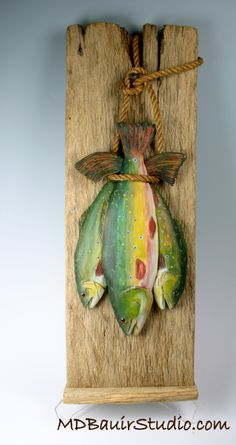 As decoration for the wall,As decoration for the wall How To Make Wood Art ? Wood art is generally the work of shaping about and inside, so long as the outer lining of anything . Driftwood Fish, Driftwood Crafts, Beach Crafts, Diy And Crafts, Arts And Crafts, Deco Marine, Wooden Fish, Painting On Wood, Dot Painting