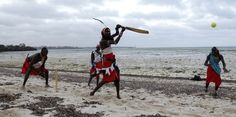 24 Awesome Photos Of Maasai Warriors Playing Cricket Cricket Games, Cricket Bat, Daily Mail Uk, Village Girl, Out Of Africa, Good Cause, Continents, Warriors, All About Time