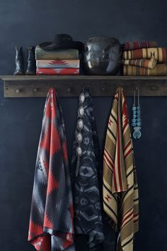 Inspired by Southwestern textile design, Ralph Lauren Home's  Ranch fabric collection