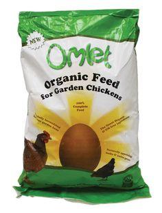 Organic Omlet Chicken Feed 10kg