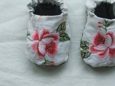 rosy baby shoes by tinyhappy