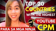 Top 20 countries with the highest YouTube CPM (YouTube CPMs for Every Co... Countries Of The World, Marketing, Country, Business, Tips, Rural Area, Store, Country Music