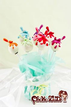 painters cake pops by https://www.facebook.com/ChokolateFancyCakes