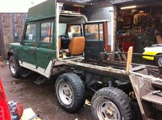Tonks4x4 Defender 6x6 Camper Project