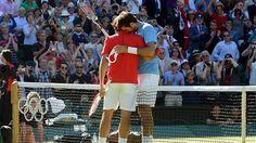 Federer del Potro. Dos grandes. Eslovenia t banca delpoo