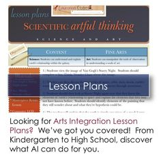 Education Closet | Where Arts Integration, Innovation and Education Converge (great resource)