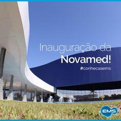 Em 2014 foi inaugurada a Novamed, maior fábrica de medicamentos sólidos da América Latina e uma das mais modernas do mundo. A Novamed pertence ao Grupo NC, mesmo grupo da EMS! #conheçaaEMS