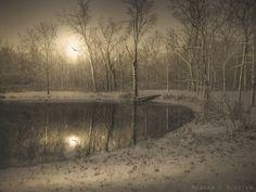 Winter Pond by Meagan V. Blazier on 500px