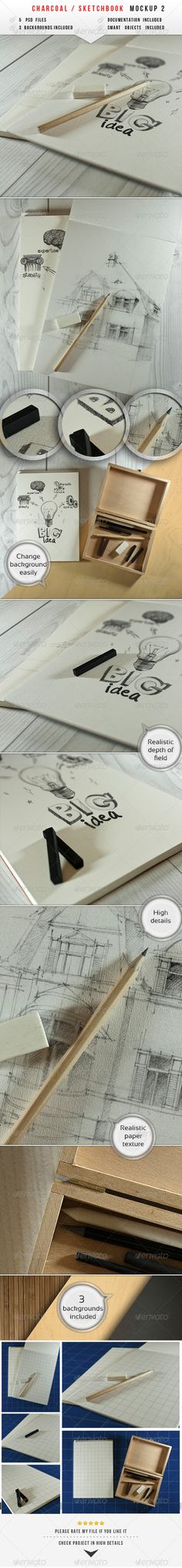 Sketch & Charcoal Mockup 2
