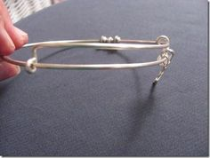 DIY Adjustable Silver Bracelets Anyone Can Make. .....VERY good tutorial. I think I can finally make these now.