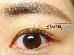 퀸크리즈+Make Up Tutrorial Straight Eyebrows 일자눈썹 만들기
