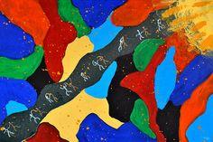 Invitation to Dance by Atousa Raissyan #art #abstract