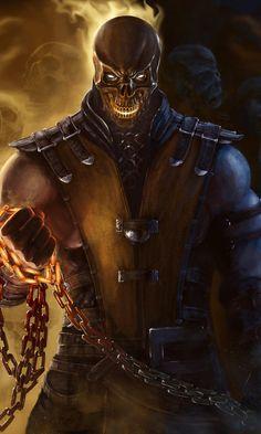 Scorpion Mortal Kombat, Mortal Kombat Art, 4k Gaming Wallpaper, Gaming Wallpapers, Beats Wallpaper, Hanzo Dragon, Mi Images, Claude Van Damme, Samurai Artwork