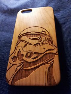 Stormtrooper Wood Phone Case - Star Wars Inspired