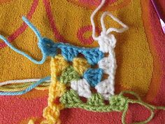 SmoothFox Crochet and Knit: SmoothFox's Spiral Granny Square or Blanket - Free Pattern