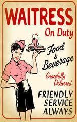 50's waitress