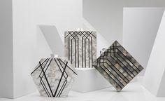 來自杜拜的Nathalie Trad手拿包-大理石紋理與幾何線條的火花   EVERYDAY OBJECT