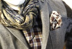 "pocket and lapel square/ men's fashion | In one of our privious posts we wrote about "" Pocket square: men's ..."