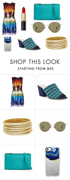 """Untitled #234"" by electronic-lions on Polyvore featuring Alice + Olivia, Botkier, Bagutta, Ahlem, Matt & Nat and Casetify"