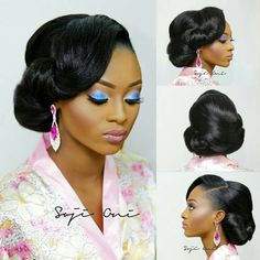 homecoming dresses blackgirl tobbiestouch on ig Long Hair Updo Prom, Straight Prom Hair, Curled Prom Hair, Prom Hair Down, Long Hair Ponytail, Simple Prom Hair, Braids For Short Hair, Black Brides Hairstyles, Prom Hairstyles For Short Hair