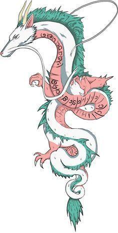 Dragon Tattoo is one of the most popular mystical tattoos. Like most other Dragon Tattoo is one of the most popular mystical tattoos. Like most other mytho… Dragon Tattoo is one of the most popular mystical… - Irezumi Tattoos, Maori Tattoos, Body Art Tattoos, Geisha Tattoos, Tatuaje Studio Ghibli, Studio Ghibli Tattoo, Tattoo Studio, Dragon Tattoo Designs, Tattoo Sleeve Designs