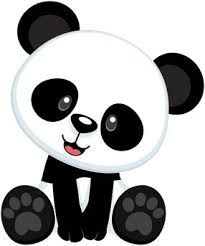 cute panda head clipart free clipart graphics pinterest rh pinterest com cute panda clipart free