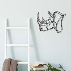 Mini Rhino Trophy | Pro-Wildlife Wall Art | Hu2.com