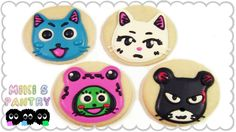FAIRY TAIL COOKIES | HAPPY & CARLA - MIKI'S PANTRY