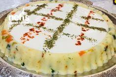 Kaşarlı Garnitürlü Patates Püresi Snacks Für Party, Camembert Cheese, Cheesecake, Potatoes, Desserts, Food, Recipies, Tailgate Desserts, Deserts