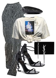 """I want to Rock with you!"" by markia322 on Polyvore featuring Yves Saint Laurent and Gucci"