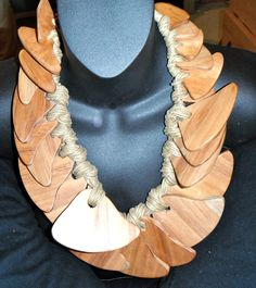 gerda lynggaard monies massive wood rope bib necklace dangling vintage geometric | Jewelry & Watches, Fashion Jewelry, Necklaces & Pendants | eBay!