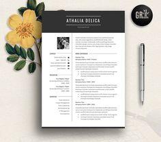 Resume Template | CV Template - 08 by GResume on @creativemarket