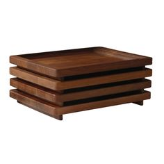 TRAYS FOR USE WITH COUCH CB-12 Stacking Trays designed by Craig Bassam and Scott Fellows of BassamFellows