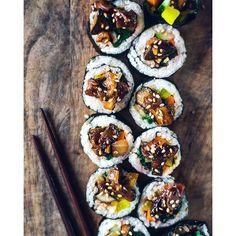 Bomb Korean Sushi via @feedfeed on https://thefeedfeed.com/themintyanne/bomb-korean-sushi