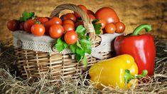 Koszyk, Wiklinowy, Pomidory, Papryka, Listki Vegetables, Food, Google, Essen, Vegetable Recipes, Meals, Yemek, Veggies, Eten