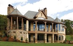 The The Hollowcrest House Plans Rear Exterior - House Plans by Designs Direct.