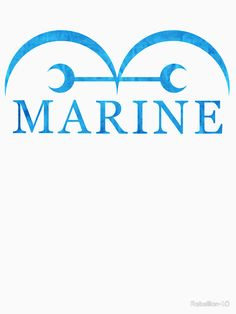This is the logo of the Marines from the anime ''One Piece''