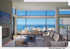 O bom dia de hoje é com essa sala linda com vista para o mar. Uma semana iluminada a todos. Ad http://ift.tt/1U7uuvq arqdecoracao arqdecoracao @arquiteturadecoracao @acstudio.arquitetura #arquiteturadecoracao #olioliteam #canalolioli #instagrambrasil #decor #arquitetura #adsala #sala #living