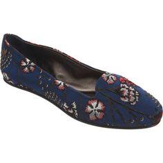 Rochas Floral Brocade Slip-On at Barneys.com #brocade