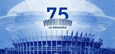 75 Years of La Rosaleda Stadium, Malaga (Spain)