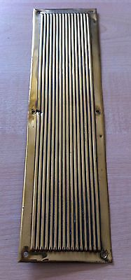 "#Original #antique victorian brass 11"" door finger plate handle #hardware (gr199),  View more on the LINK: http://www.zeppy.io/product/gb/2/251592628737/"