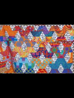 Quilt Block Patterns, Pattern Blocks, Quilt Blocks, One Block Wonder, 60 Degrees, String Quilts, Textiles, Contemporary Quilts, Quilt Making