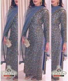 Discover thousands of images about Kurta- Net With Zari Work(Semistitched- Free size). Dupatta – Net With Gotta Border. Pakistani Dresses Casual, Indian Gowns Dresses, Indian Fashion Dresses, Pakistani Bridal Dresses, Dress Indian Style, Pakistani Dress Design, Party Wear Indian Dresses, Punjabi Fashion, Designer Party Wear Dresses