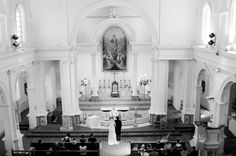 Cathedral Ceremony - Wedding Photography by Natalie Priscilla Photography and Design. New Zealand.