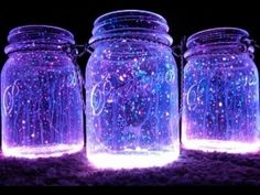♡ DIY Fairy Glow Jars ♡ - YouTube