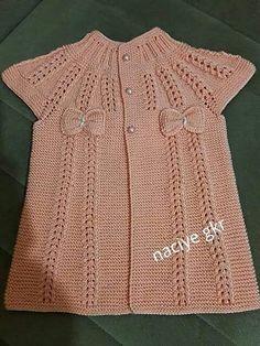 "[][] [] Polly Dress Knitting pattern by Suzie Sparkles cok begenxim hRikalar ellerinize daglik [] Yelek modeli by sevimerkul [ ""Yelek modeli by sevimerkul [] ] Knitted baby vests 50 Knitting Blogs, Baby Knitting Patterns, Knitting Designs, Crochet Designs, Free Knitting, Crochet Woman, Crochet Baby, Knitted Baby, Lace Cardigan"