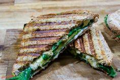 Grünes vegetarisches Sandwich