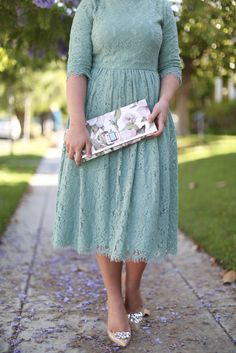 modest fashion, modest bridesmaid dresses, modest clothing, modest dresses, modest skirt, modest top, modest apparel, hijab, long sleeves, 3/4 sleeves, modest swimwear, ruffles and lace, long dress, modest swimsuit, bow dress, lace dress, elegant, victorian, vintage, bridesmaid, wedding, flower girl, plus size, Graceful in Lace dress in cool mint