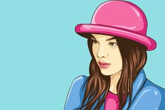 draw professional pop art style portrait in my style by bardsley098
